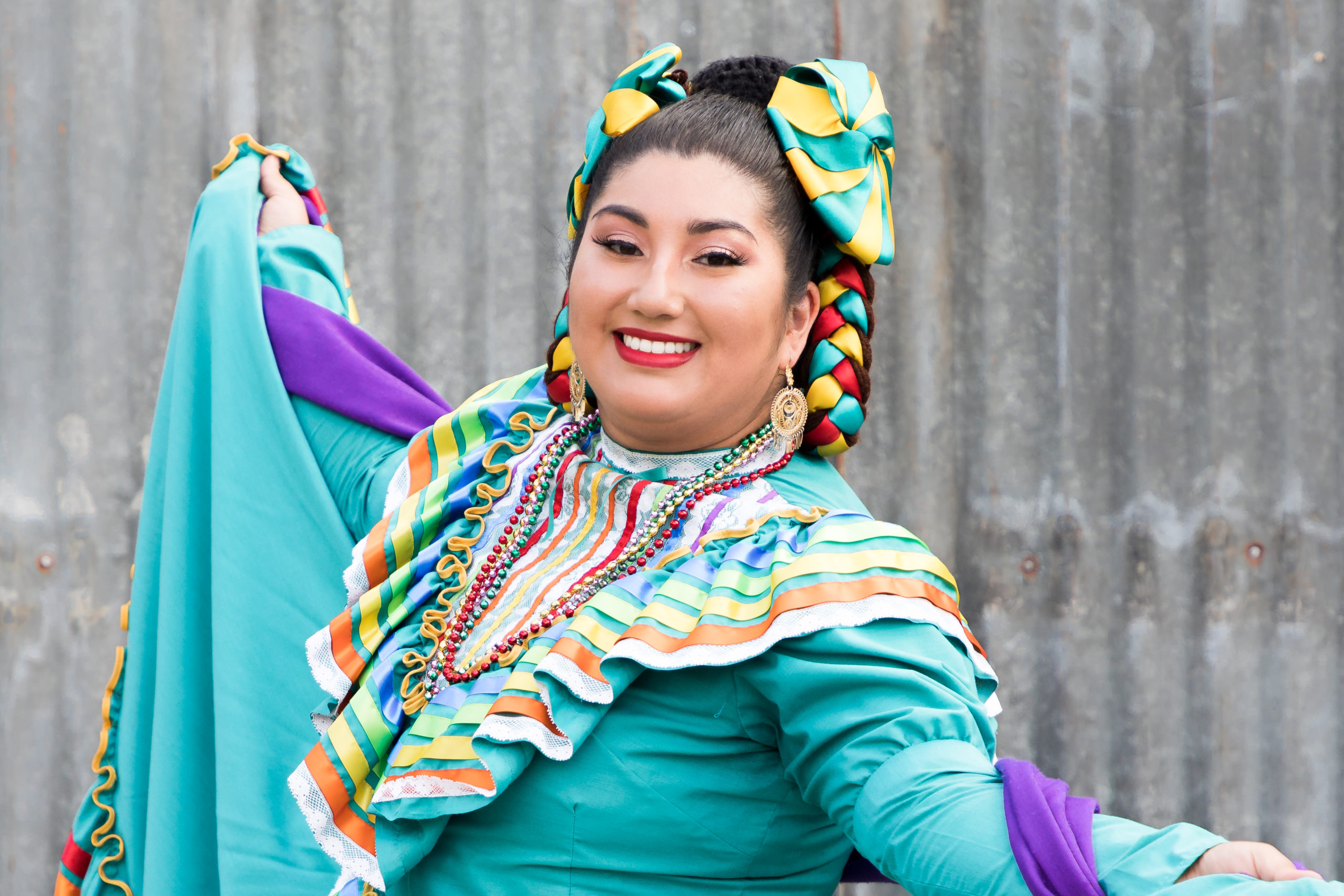 Ballet Folklorico Portrait Photography San Jose California